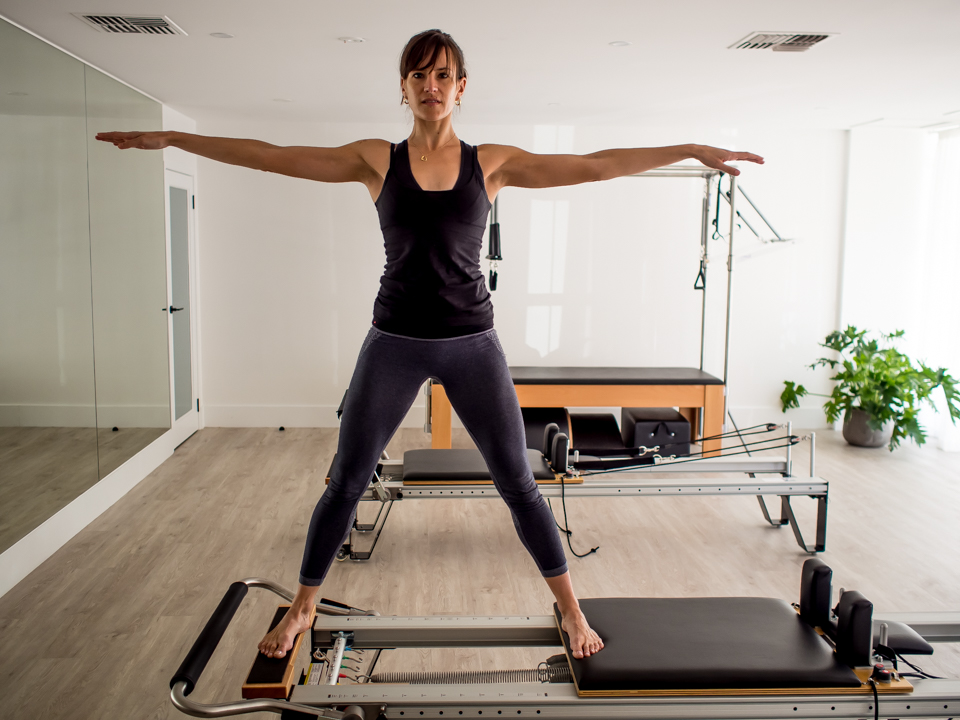 Side Splits on the Reformer with Variations - APPI Equipment Level 1