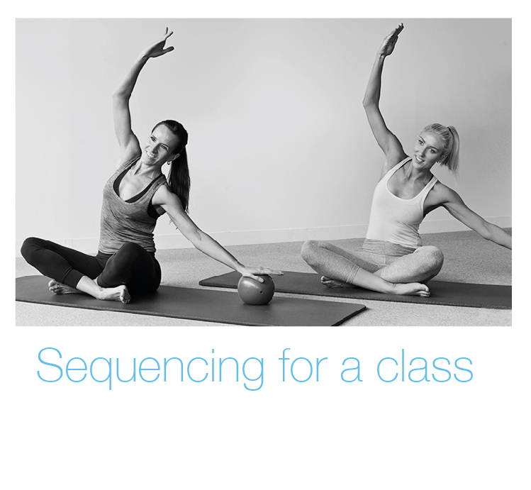Sequencing for a Pilates class