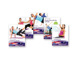 Range of Pilates DVDs