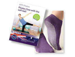 Pilates dvd and socks
