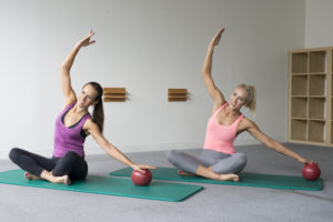 MATWORK PILATES VARIATIONS WITH THE SOFT BALL